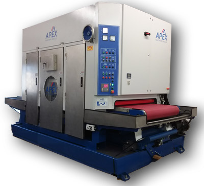 Apex Machine Group metal finishing machine